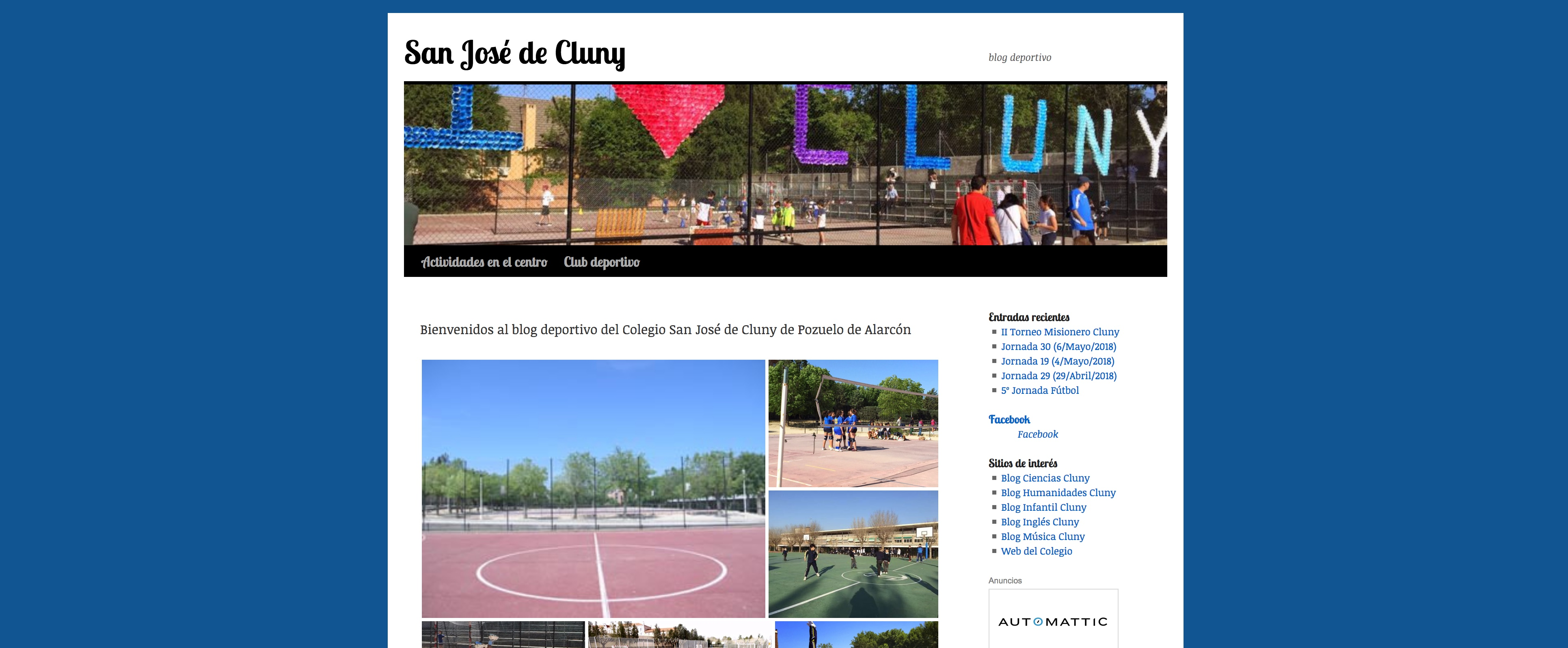 Blog Educacion Fisica Cluny Pozuelo