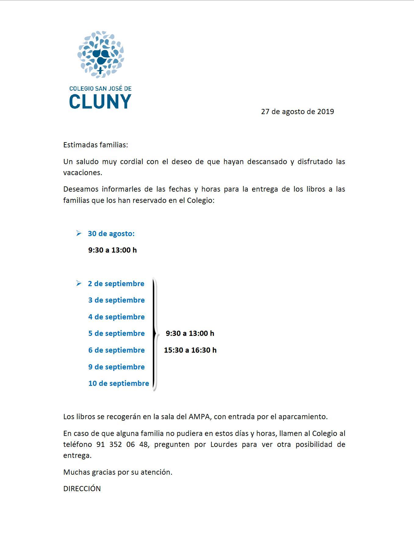 Entrega_libros_cluny_pozuelo